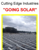Cutting Edge Going Solar